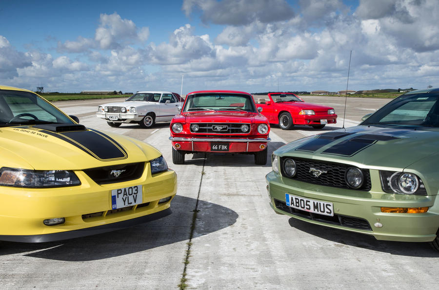New Ford Mustang Five Generations Of America S Pony Car