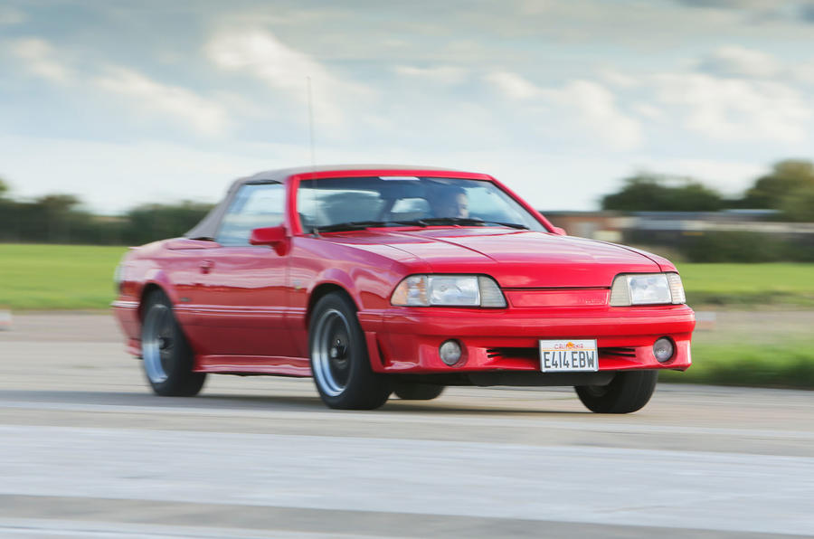 Ford Mustang Fox Body five generations