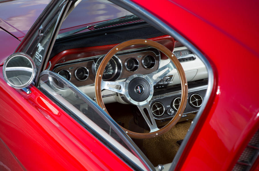 Ford Mustang interior five generations