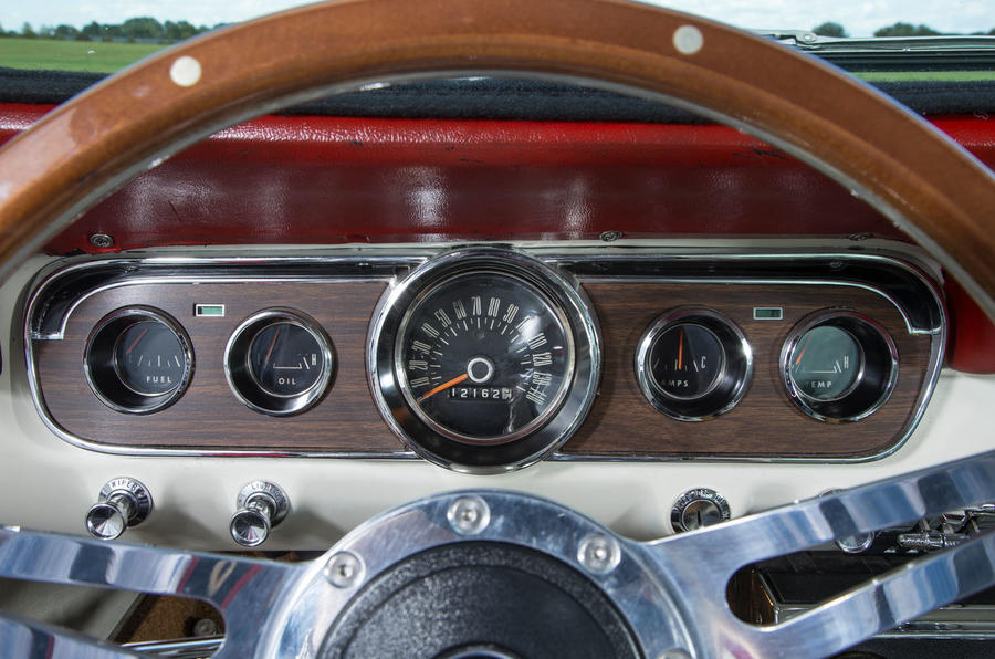 Ford Mustang dials five generations