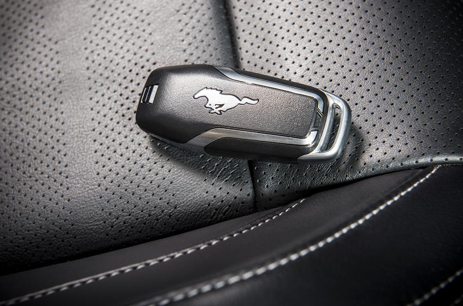 Ford Mustang key fob
