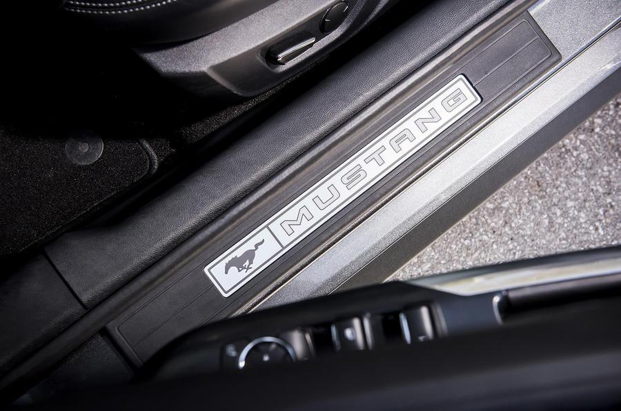 Ford Mustang kick plates