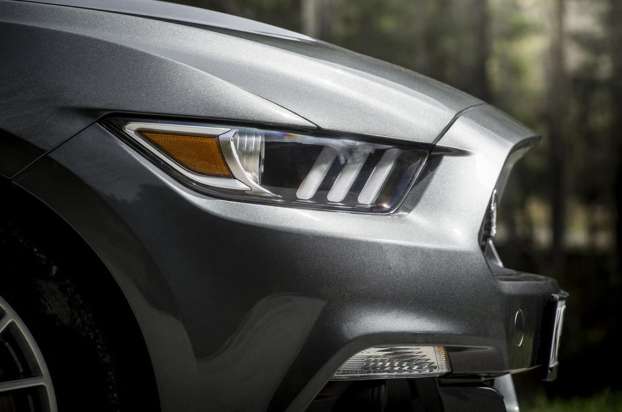 LED Ford Mustang headlights
