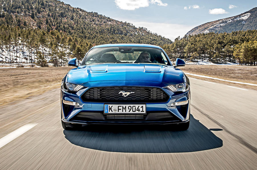 Ford Mustang 2.3 EcoBoost 2018 review front