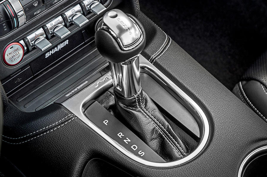 Ford Mustang 2.3 EcoBoost 2018 review automatic gearbox