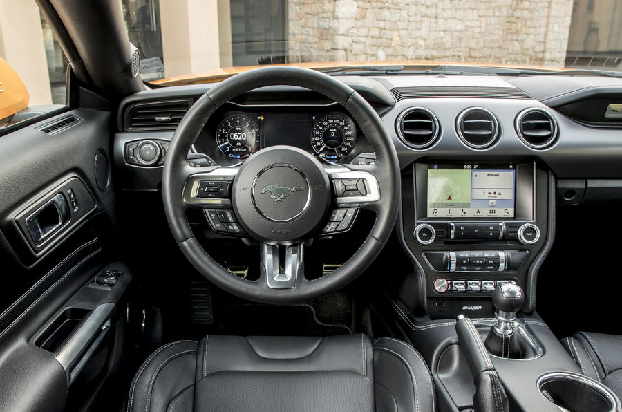 Ford Mustang interior