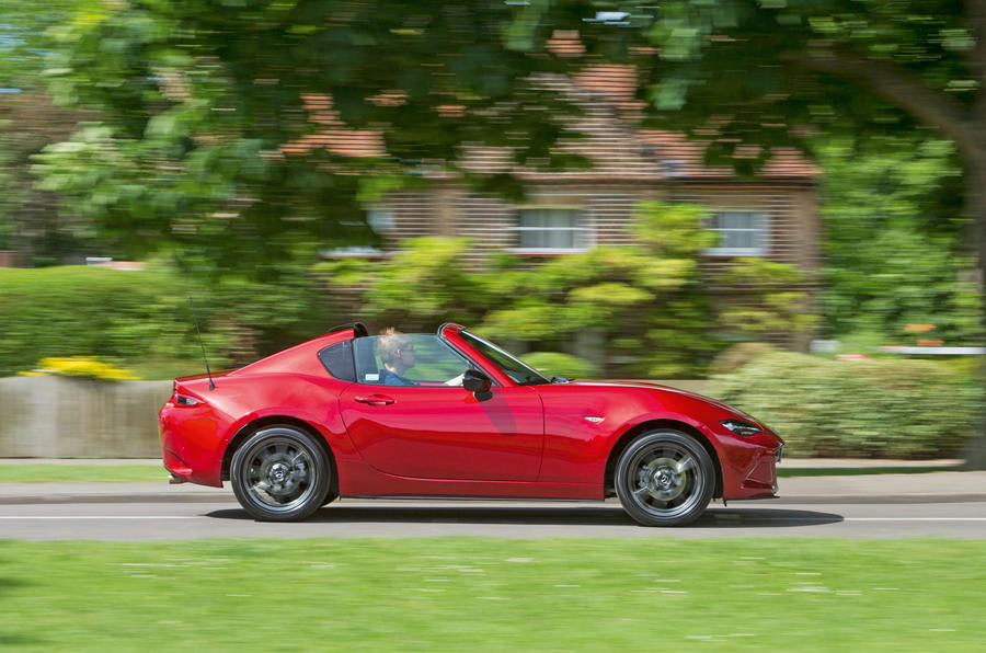 Mazda MX-5 RF long-term test review: first report