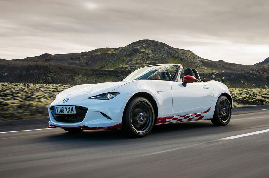 2016 mazda mx 5 icon review review autocar. Black Bedroom Furniture Sets. Home Design Ideas