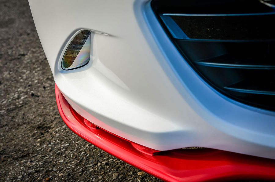 Mazda MX-5 Icon front splitter