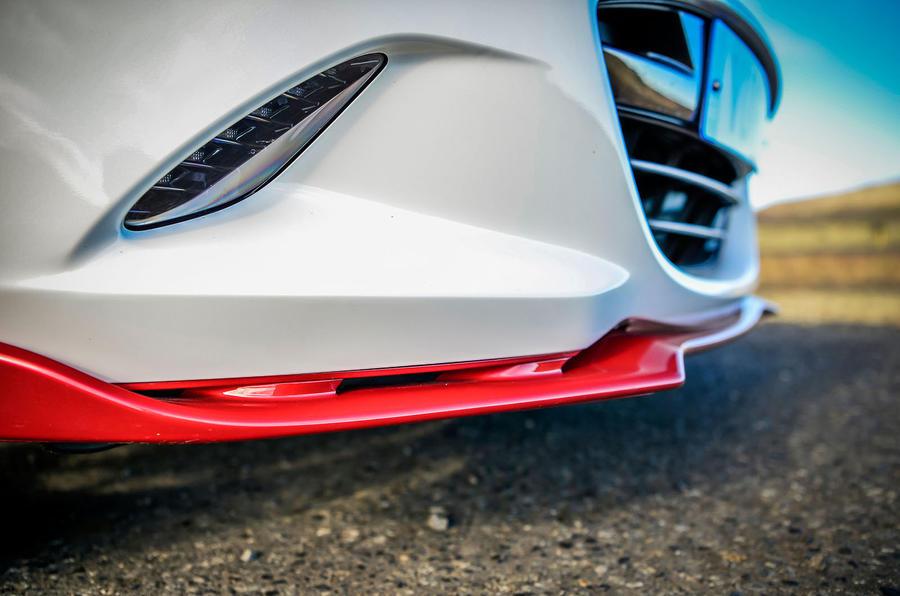 Mazda MX-5 Icon aero splitter