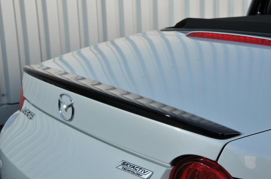 Mazda MX-5 Recaro rear spoiler