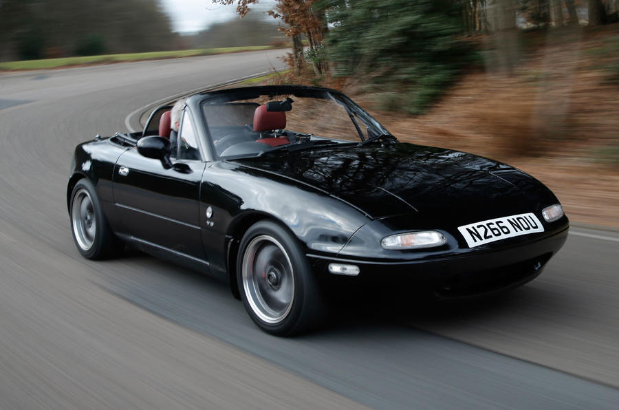 driving a v6 powered mazda mx 5 rocketeer autocar. Black Bedroom Furniture Sets. Home Design Ideas