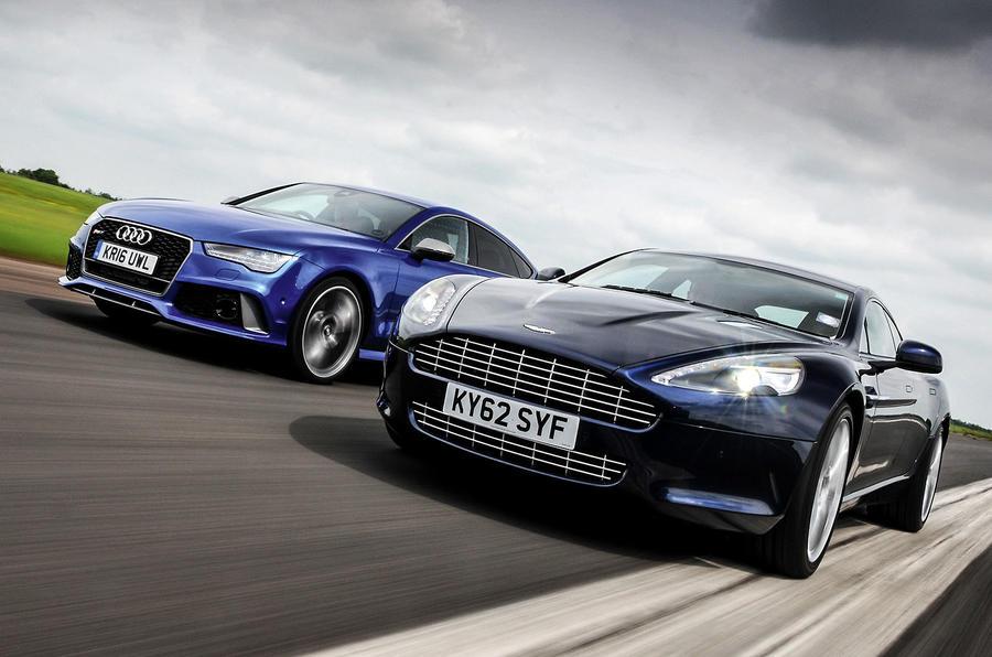New Audi RS Performance Vs Used Aston Martin Rapide Luxury - Used aston martin rapide