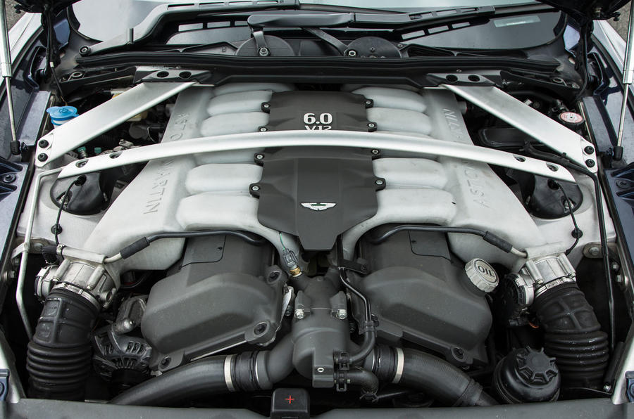 Aston Martin Rapide engine
