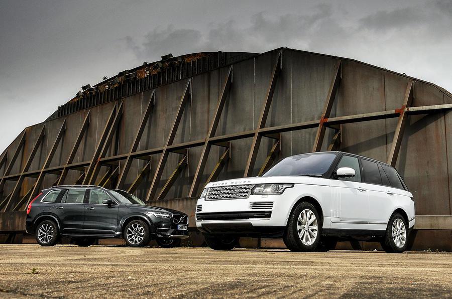 Volvo Xc90 D5 Momentum Vs Range Rover Tdv6 Vogue New Vs Used Autocar