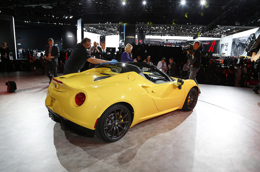Alfa Romeo C Spider To Cost From Just Under Autocar - Cool cars for 60000