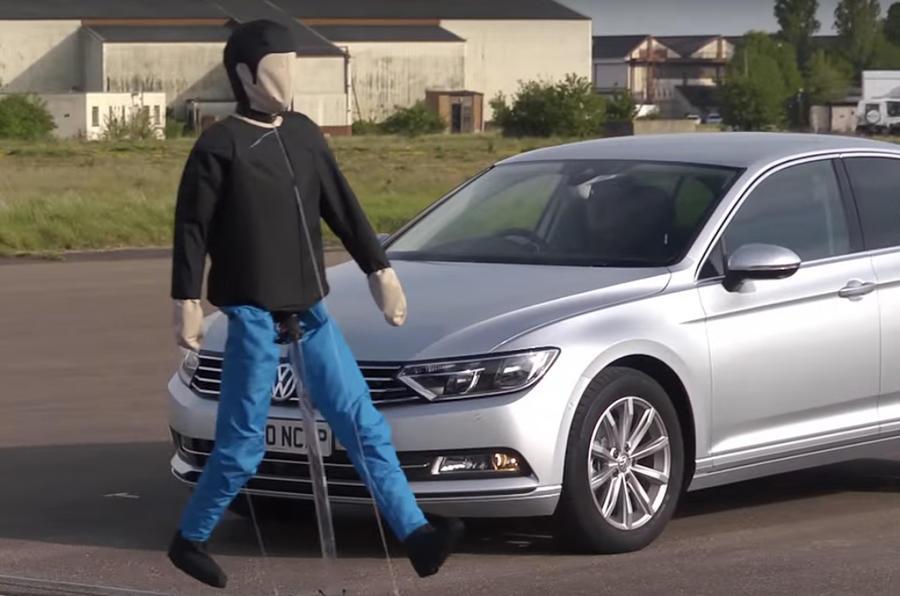 Pedestrian NCAP test