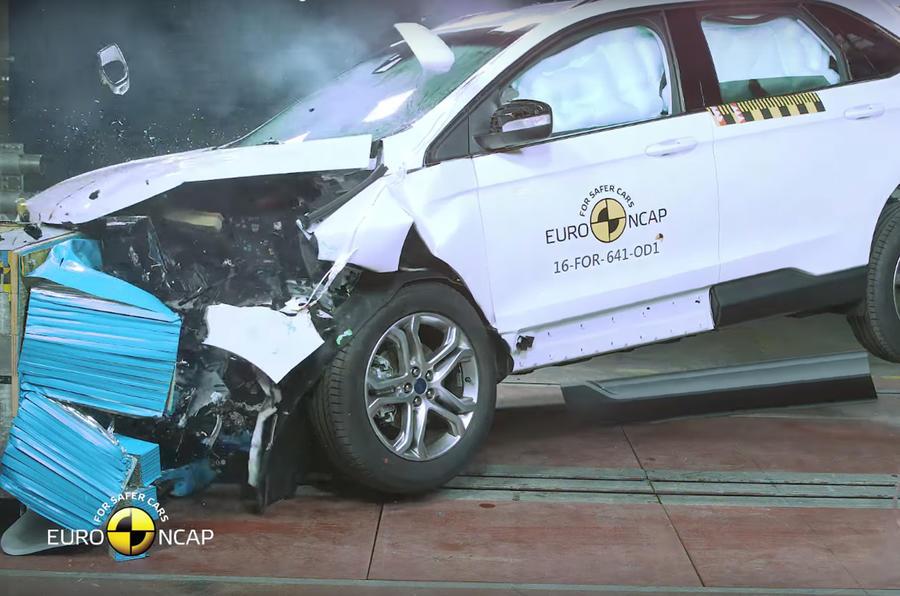 Audi Q2, Ford Edge, Hyundai Ioniq score five-star NCAP ratings