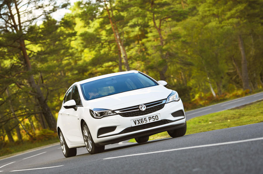 Vauxhall Astra 2015-2018 nearly new buying guide - hero front