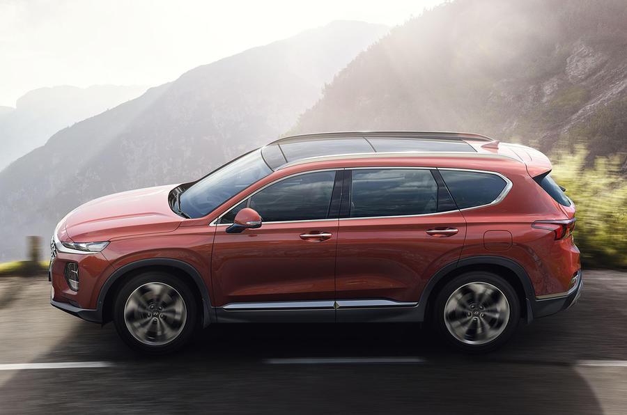 Hyundai Santa Fe 2018 first drive review side