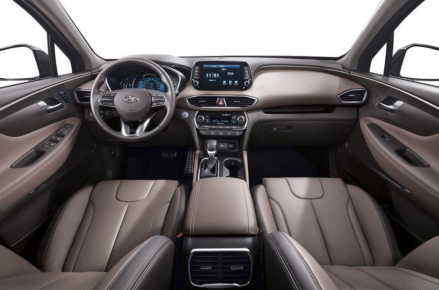 Hyundai Santa Fe 2018 first drive review cabin