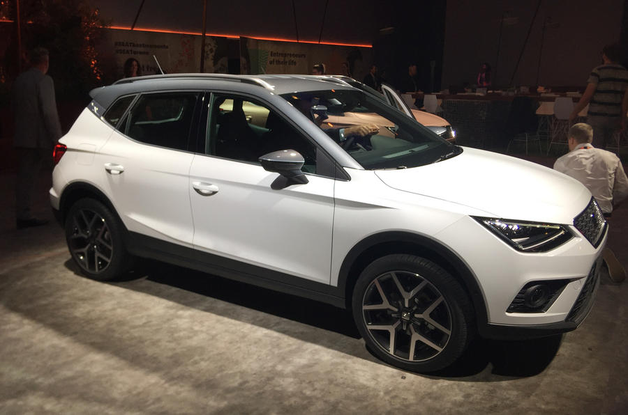 seat arona orders now being taken for 16 555 nissan juke rival autocar. Black Bedroom Furniture Sets. Home Design Ideas