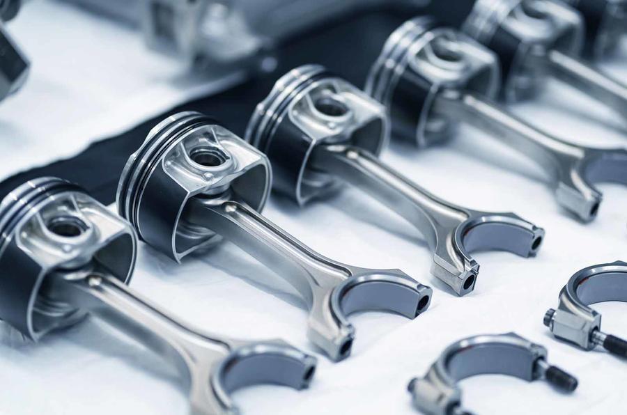 Aston Martin V6 engine detail 2