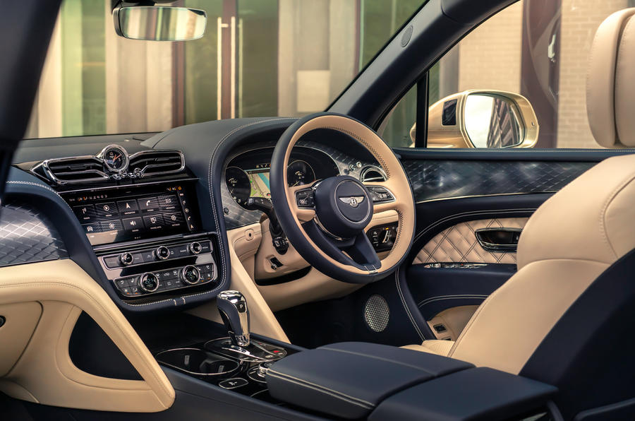 2021 Bentley Bentyaga Hybrid - interior