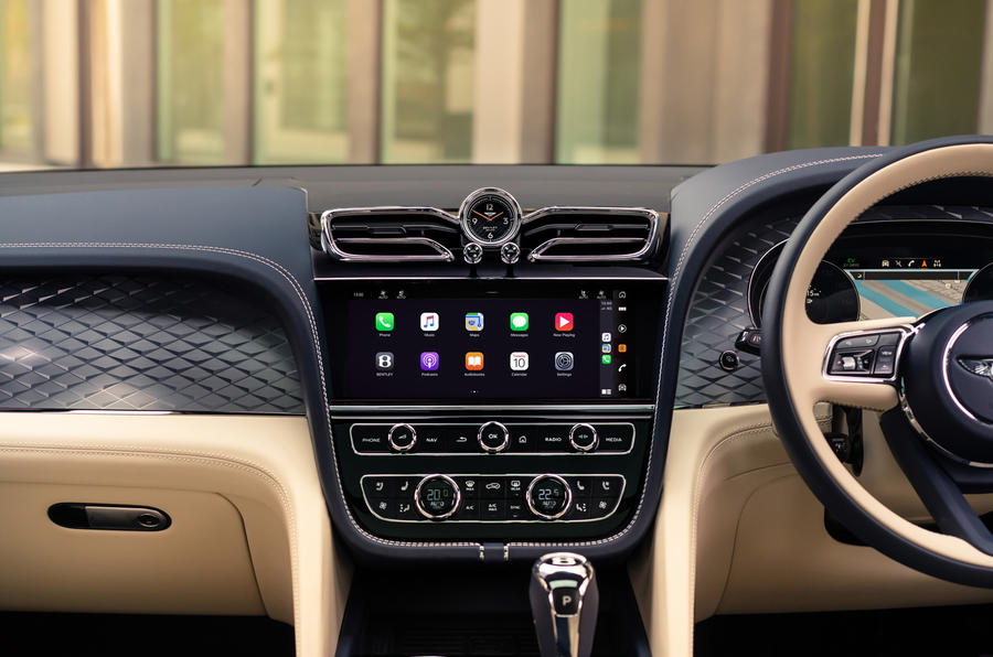 2021 Bentley Bentyaga Hybrid - dashboard