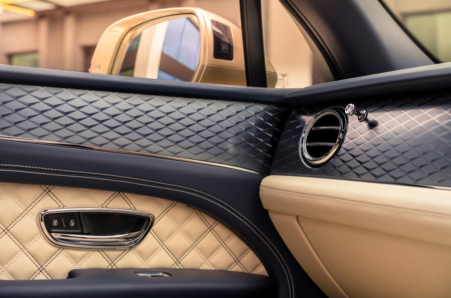 2021 Bentley Bentyaga Hybrid - detail