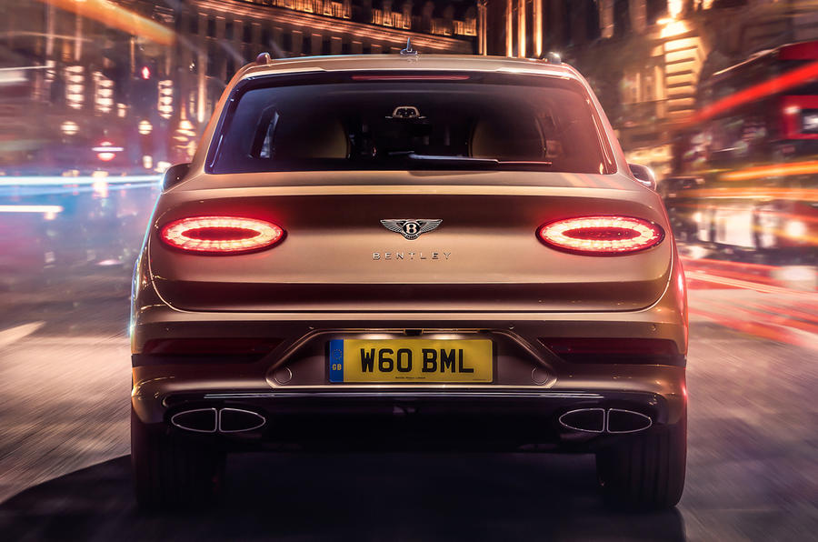 2021 Bentley Bentyaga Hybrid - rear