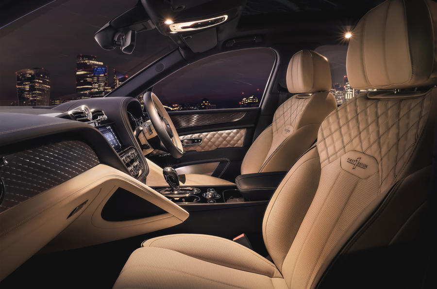 2021 Bentley Bentyaga Hybrid - front seats