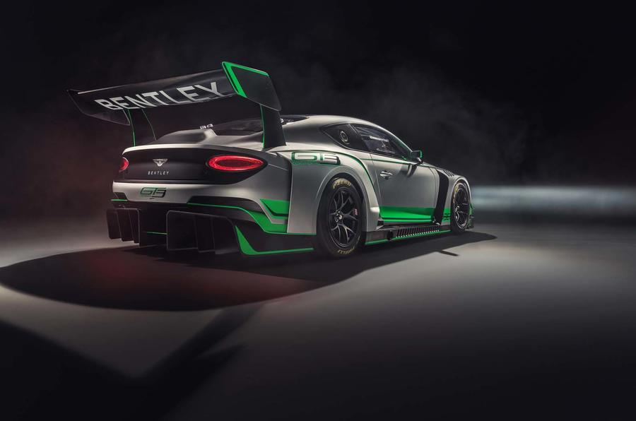 Bentley unveils all-new Continental GT3 challenger