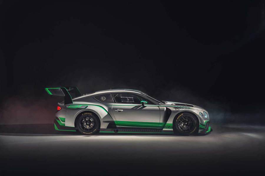 Bentley's new Continental GT3 race auto is ready to compete
