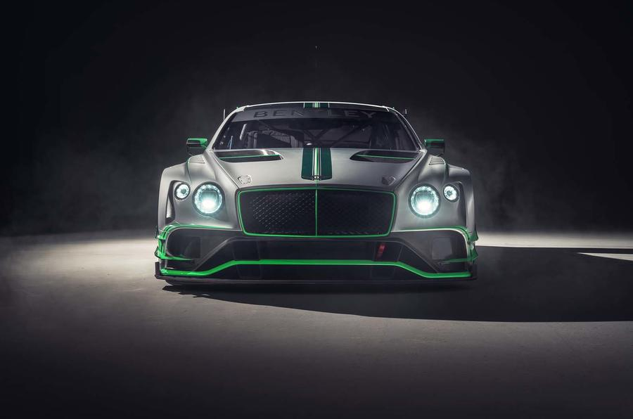 Bentley Continental GT3 race auto revealed