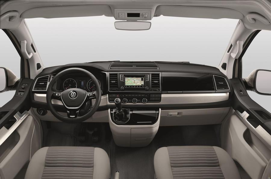 Volkswagen California Ocean dashboard