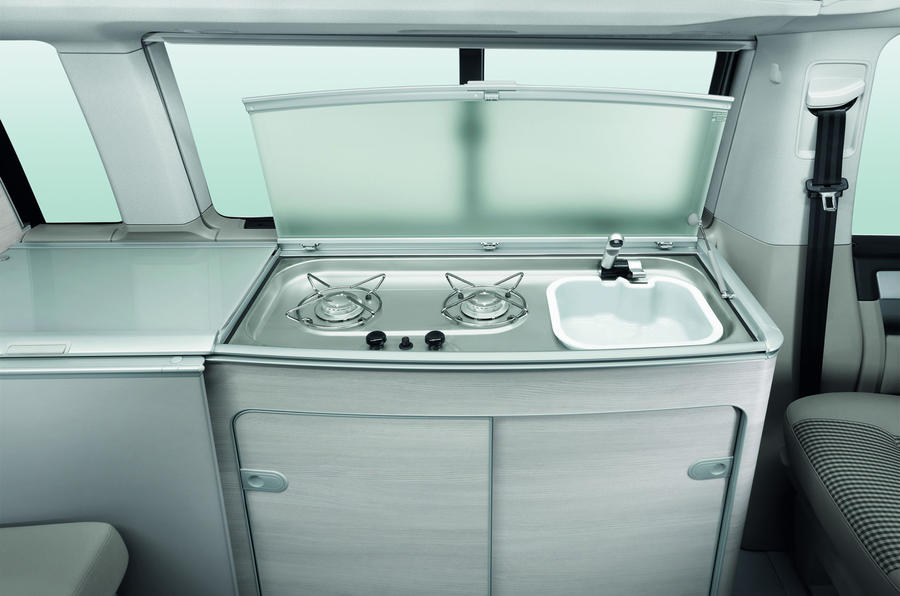 Volkswagen California Ocean kitchen