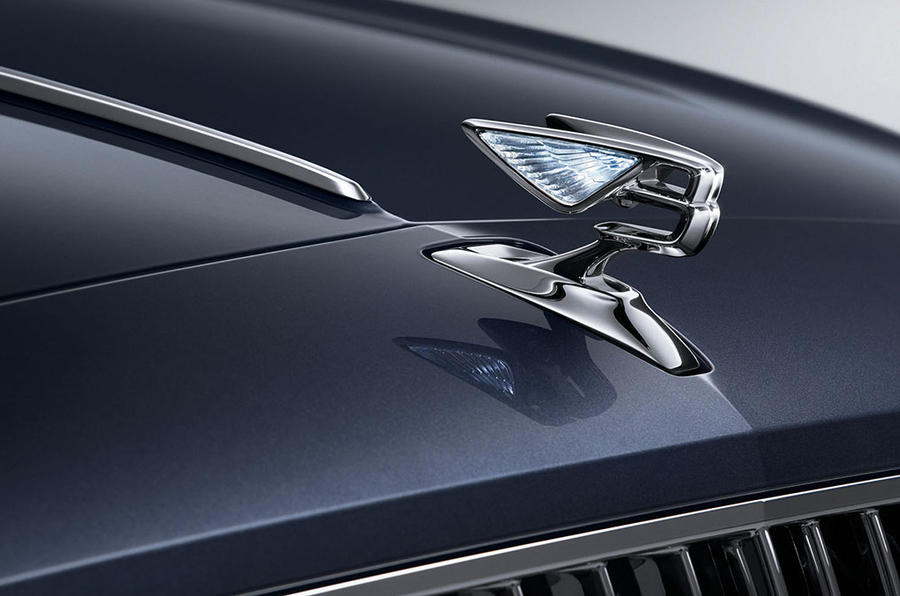 Flying Spur bonnet
