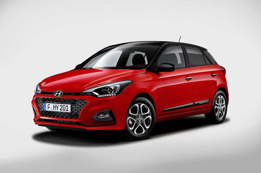 Revised Hyundai i20 revealed