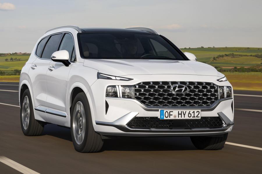 2020 Hyundai Santa Fe - hero front