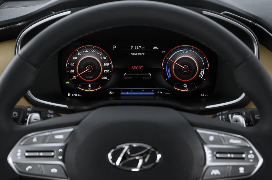 2020 Hyundai Santa Fe - steering wheel