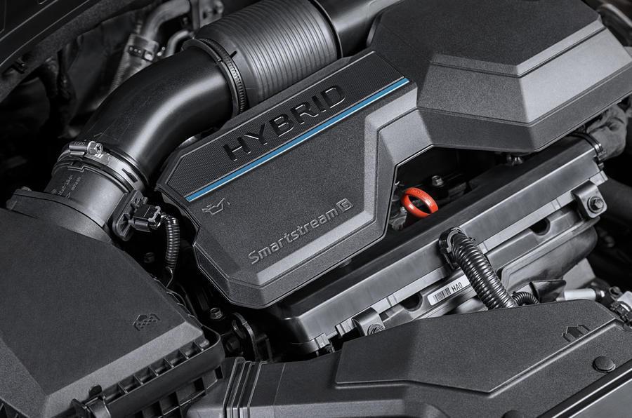 2020 Hyundai Santa Fe - engine