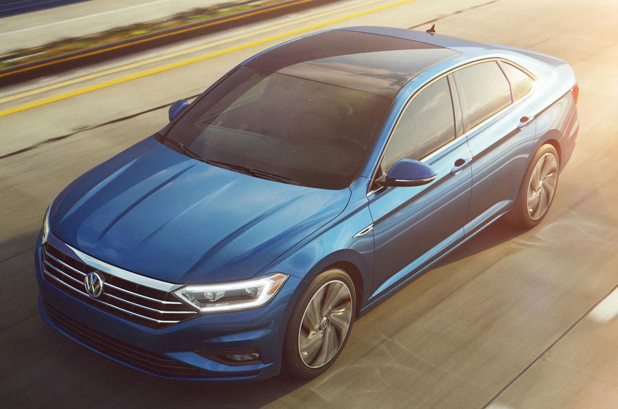 New Volkswagen Jetta introduces sharper look and eight-speed auto | Autocar