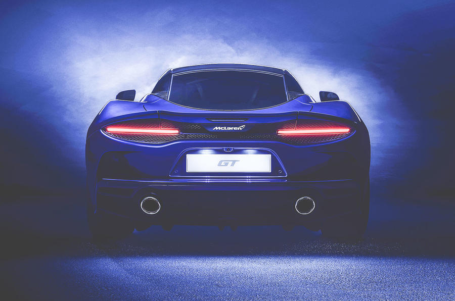 McLaren GT rear lightened