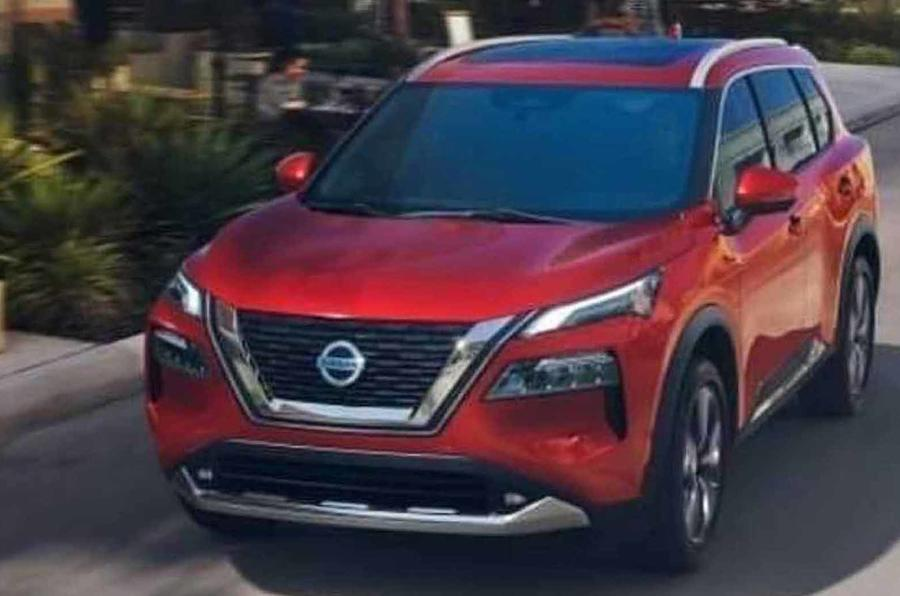 Nissan Rogue/X-Trail leaked images front