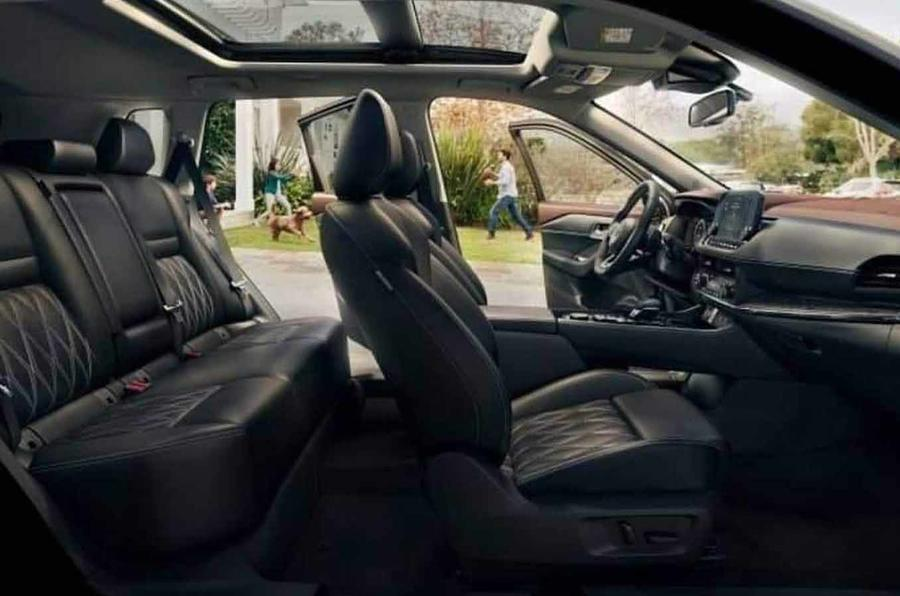 Nissan Rogue/X-Trail leaked images cabin