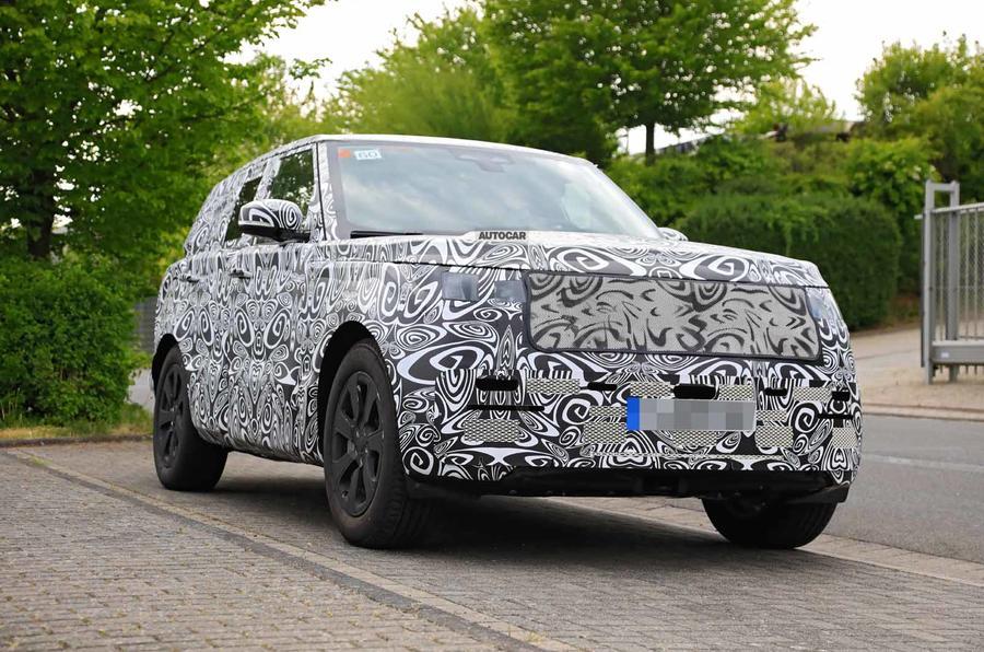 New Range Rover spyshot front