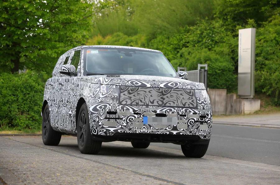 New Range Rover spyshot front 2