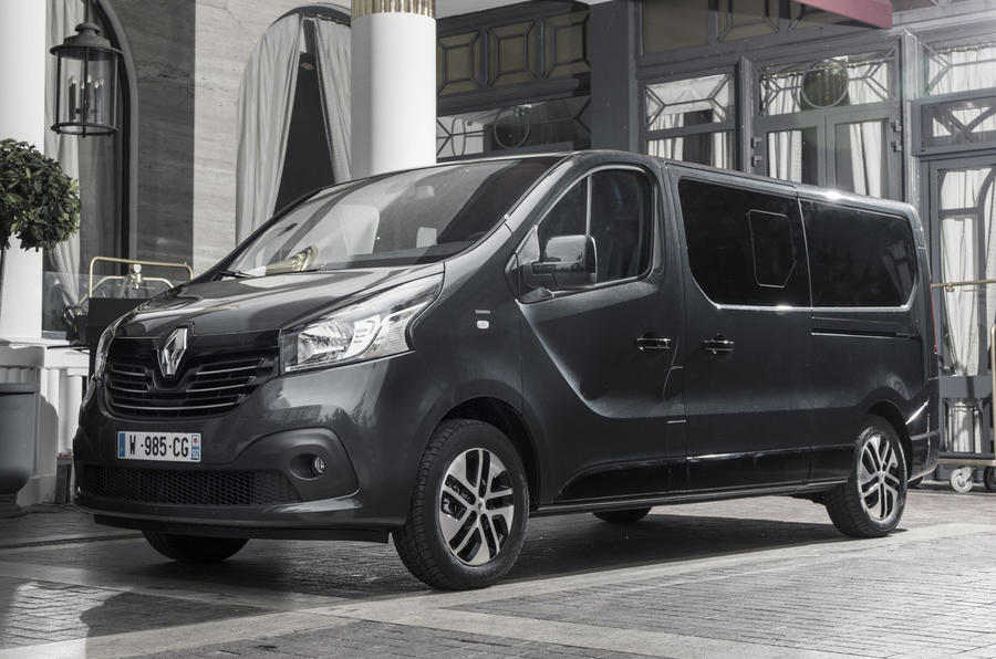 renault trafic spaceclass makes its debut at cannes film festival autocar. Black Bedroom Furniture Sets. Home Design Ideas