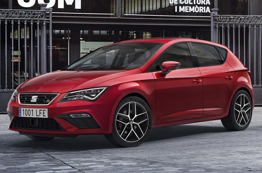 2017 seat leon facelift revealed autocar. Black Bedroom Furniture Sets. Home Design Ideas